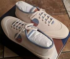 """$375 Mens Authentic Bally """"Silio"""" Retro Canvas Low-Top Sneakers Neutral US 13"""