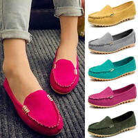 Hot Women Round Toe Flats Sapatos Casual Loafers Low Heel Shoe Plus Size Zapatos