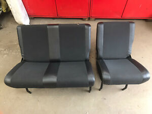 Land Rover Defender XS Half Leather Rear Seats, Second Row
