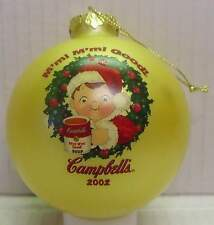 Christmas Ornaments - Campbell's Soup