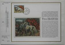 Document philatélique CEF Soie 482 S 1er jour 1978 Yves Brayer Peintre