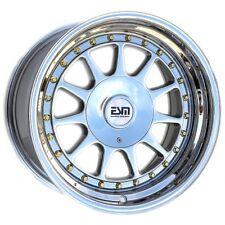 """16x8 Platinum 16"""" ESM-003R Wheels  5x112 VW Audi Mercedes Golf Jetta"""