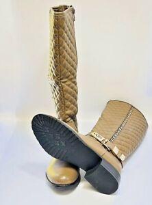 Ugg Australia Mid Calf Boots UK Size 6 EU 39 US 7 Coffee Colour