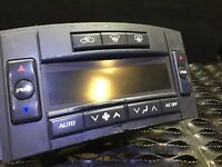 2005 05 2006 06 CADILLAC CTS A/C HEATER CLIMATE TEMPERATURE CONTROL OEM #34 109k