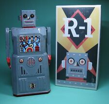 GREAT ORIGINAL R1 ROBOTER ROBOT ROCKET USA ROBOTER LACK RARE GREY EDITION!