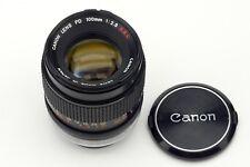 Canon FD 100mm f/2.8 SSC FD Mount Portrait Lens w/ Sharp Optics - READ