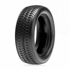 LOSA7207S Front Taper Pin Tire with Foam, Silver (2)  LOSI