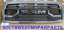 NEW 2013-18 DODGE RAM 2500 3500 CHROME GRILLE W/ RAM LETTERS OEM# 6NE51SZ0AB