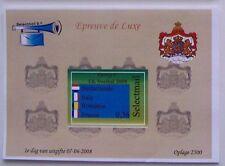 Stadspost Lelystad - Epreuve de Luxe EK voetbal (Football) 2008 Groep C (2)