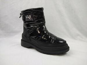 Sam Edelman Ankle Booties Boots Carlton Waterproof Black Size 6 US Womens
