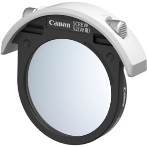 New CANON 52mm Drop-in Filter Holder 52WIII for EF400mm f2.8 III  EF600mm f4 III