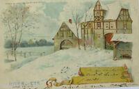 """""""Neujahr, Winter und Sommer"""" 1902 ♥ (1554)"""