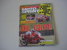 MOTOSPRINT 35/1990 PROVA TEST MOTO BIMOTA TUATARA 1000