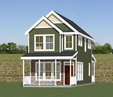 16x30 House -- 2 Bedroom  -- PDF Floor Plan -- 901 sq ft -- Model 22