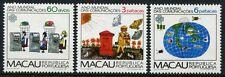 Macao Macao 1983 mondo comunicazione anno world communication year 497-99 MNH
