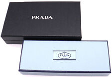 PRADA Empty Box 2P Set Gift Storage Box Blue Black Medium -14