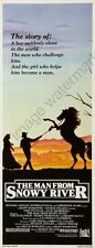 Man From Snowy River The 14inx36in Insert Movie Poster Replica