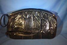 Vintage Italian Genuine Snakeskin Reptile Palizzio Purse Shoulder Bag Clutch
