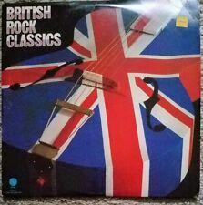 British Rock Classics. 2-disc vinyl LP. Beatles, KInks, Cream, Elton John. NM