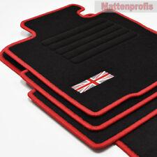Mattenprofis Velours Fußmatten Edition für Mini R50 + R53 ab Bj.2001 - 2006 rot