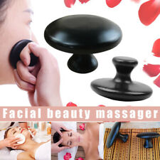 Mushroom Shaped Massage Stones Warmer Basalt Hot Rock Scraping Guasha Tool