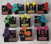 Mickey Mouse Expression Mystery Pouch Set Choose a Disney Trading Pin