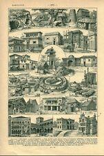 Document ancien habitation  issu du livre de 1922