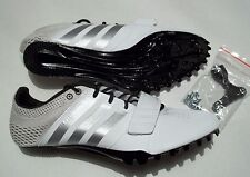 NEW Adidas Prime Accelerator Size 9.5 Track Shoes With Spikes & Tool  S80336