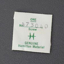 Parts For Watchmakers Repairs Spares Nos Original Hamilton 992B Pocket Watch