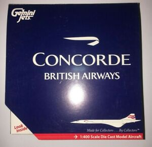 Gemini Jets British Airways Concorde - G-BOAE - GJBAW538 - 1/400