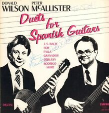 Donald Wilson And Peter McAllister(Signed Vinyl LP)Duets For Spanish Gu-VG/Ex