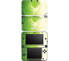 Vinyl Skin Decal Cover for Nintendo 3DS XL LL - Abstract Green