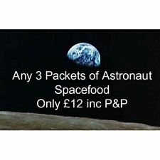 Astronaut Space Food You Choose! Any 3 Packets Of Freeze-Dried Ice Cream & Fruit