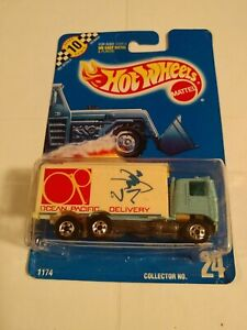 1:64 HOT WHEELS 1989 COLLECTOR # 24  OP DELIVERY  HIWAY HAULER