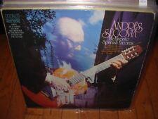 ANDRES SEGOVIA guitar solos /  spanish encores ( world music ) spain 2 LP LOT