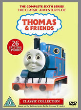 THOMAS THE TANK ENGINE AND FRIENDS SERIES 6 DVD Original UK Release New R2