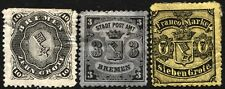 BREMEN GERMANY Stamps Postage Collection 1855-1866