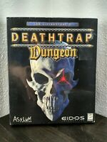 Deathtrap Dungeon Asylum Studios Eidos PC Game CD Rom