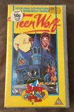 Teen Wolf Howling Adventures Of A Werewolf Family VHS