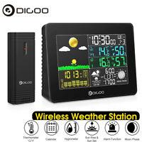 Digoo Color Digital Weather Station Wireless Hygrometer Forecast Sensor Clock