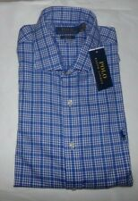 NWT MENS POLO RALPH LAUREN L/S SHIRT~SLIM FIT~LRG 16 - 32/33