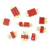 10 Pairs Ultra T-plug Connectors for Deans Car RC LiPo Battery Male and Female