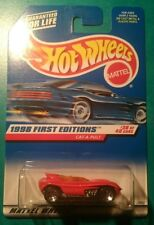 1998 HOT WHEELS FIRST EDITIONS CAT-A-PULT #681 5 SPOKE RED ORANGE MALAYSIA #38