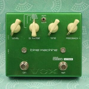 VOX JS-DL Time Machine Delay Joe Satriani Guitar Effect Pedal 013898