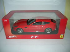 HOT Wheels Ferrari FF / ff  Baujahr 2011 rot red, 1:18 Art. X5524