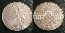 FRANCE 100 FRANCS ARGENT LOUVRE 1993 FRANKREICH FRANCIA