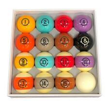 Dynasphere Tungsten 2-1/4 in. Belgian Designed Billiards Pool Balls Set