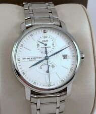 Baume Mercier Classima XL Executive GMT Automatic Watch  -  M0A08838- Exc. Cond.