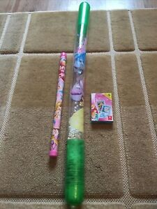 Disney Princess Toy Bundle Card Game Blow Up Wand