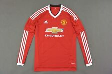 adidas Manchester United - Home Shirt 2015-16 Long Sleeve SIZE XL (adults)